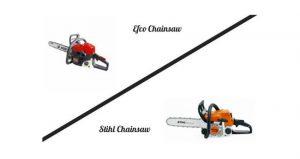Efco Chainsaw vs Stihl