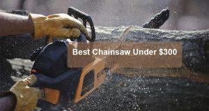Best Chainsaw Under $300